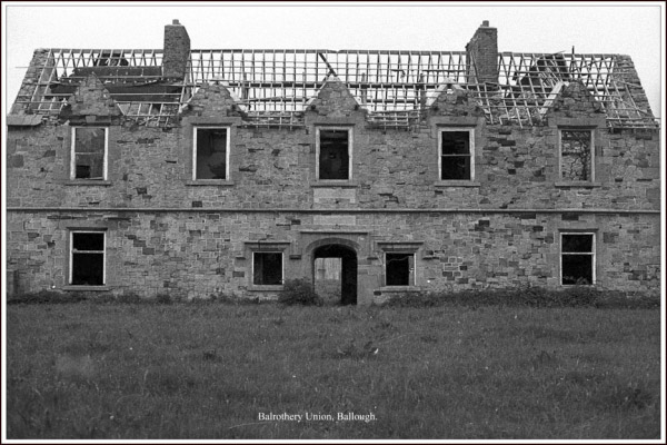 Balrothery Union, Ballough. No 1