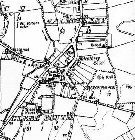 1938 Dublin sheet map