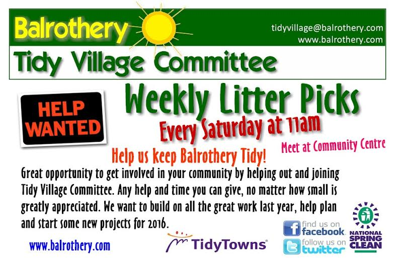 Balrothery Saturday Tidy Up