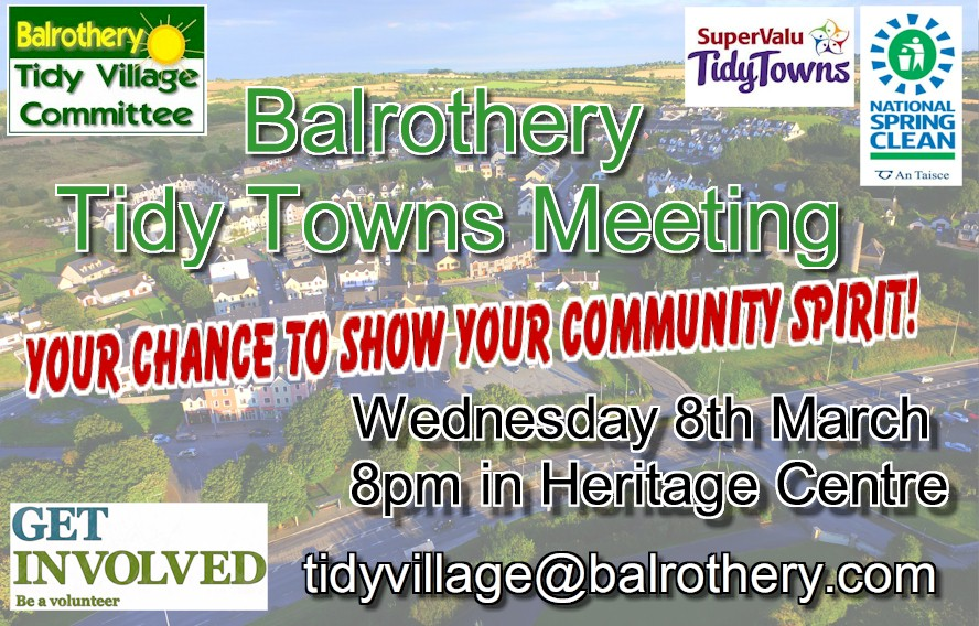 Meeting Balrothery Tidy Village