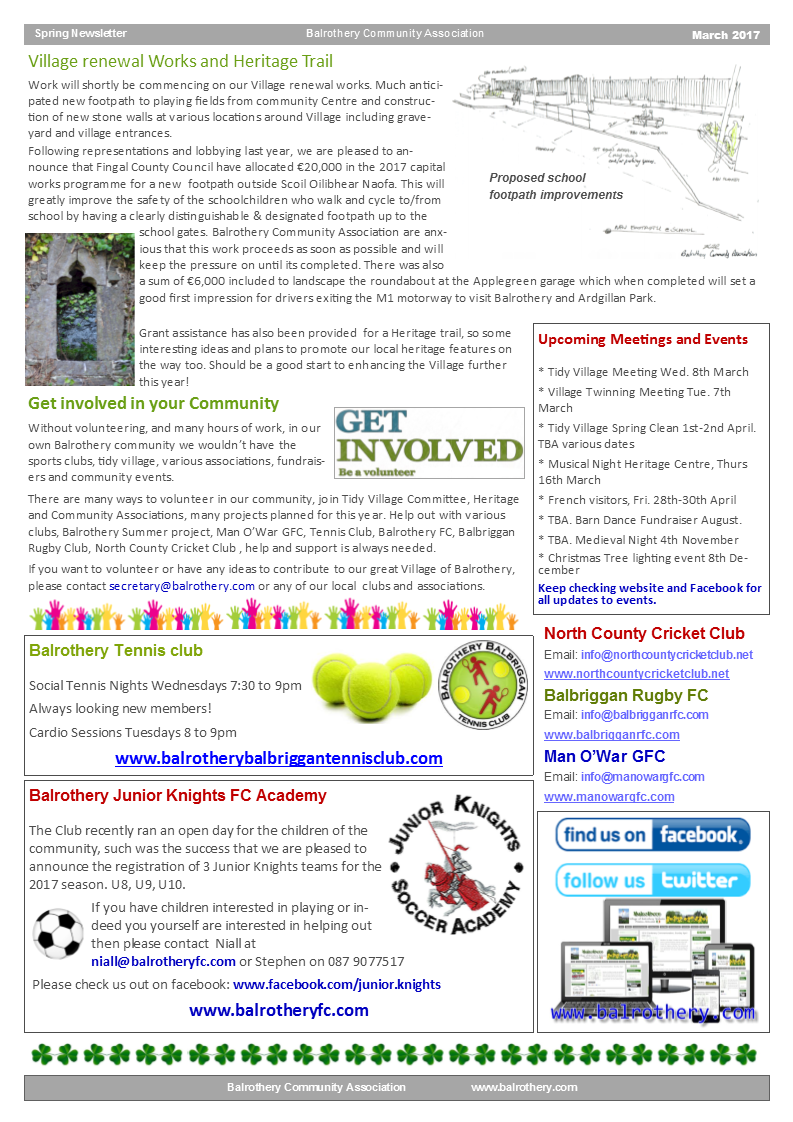 Spring Newsletter March 2017 page2