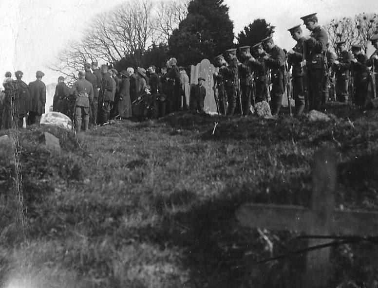 Military Funeral at Balrothery MF Adjusted