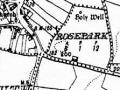 1938 dublin sheet map and well